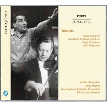 Brahms: Violin Concerto; Academic Festival Overture; Tragic Overture; Alto Rhapsody