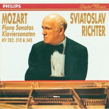 Mozart: Piano Sonatas Nos. 4, 8 & 16