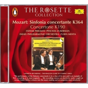 Mozart: Sinfonia concertante K.364; Concertone K.190